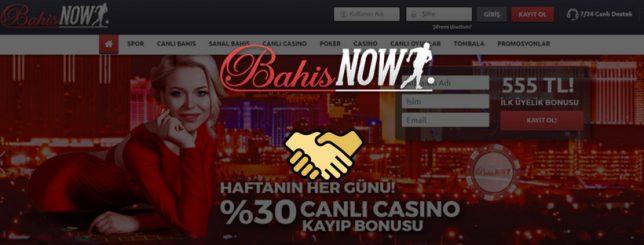 Bahisnow Üyelik İşlemleri